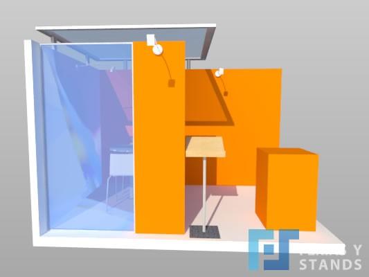 Stand 3×2 corner 03